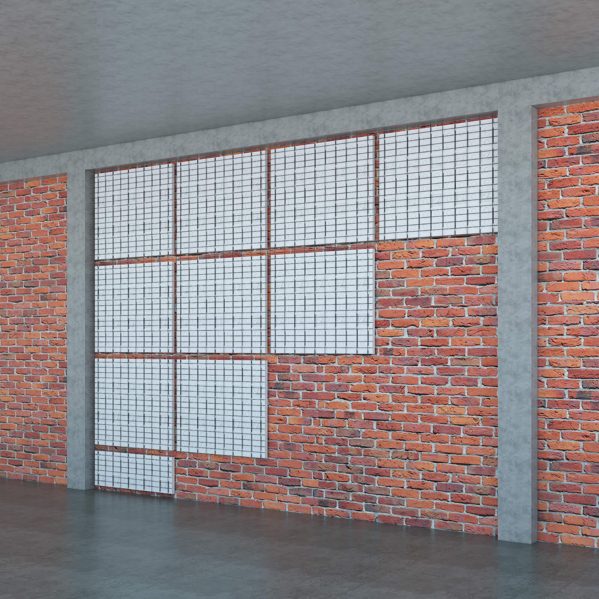 Tấm Ốp Tường Chống Nóng GM–VRO