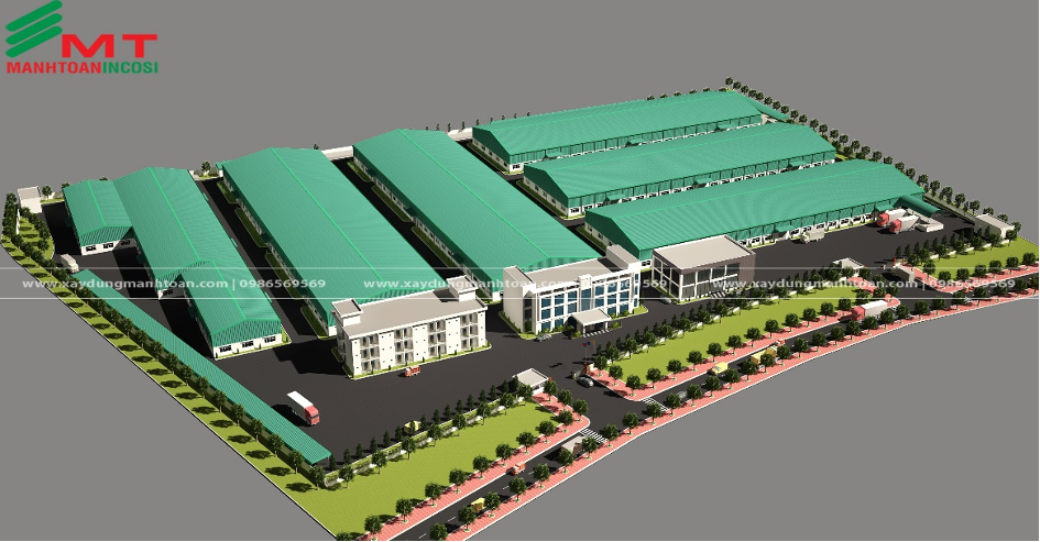 Candle Material Warehouse Project in Hai Duong