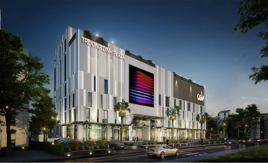 Truong Dinh Plaza – Shopping center construction project