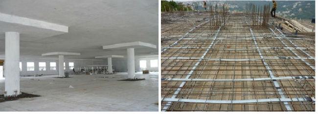 What is a voided slab?, sàn phẳng không dầm lõi xốp, sàn lõi xốp, sàn xốp, sàn lõi rỗng, gạch không nung, gạch nhẹ, gạch chống thấm, gạch lõi xốp, gạch xây dựng