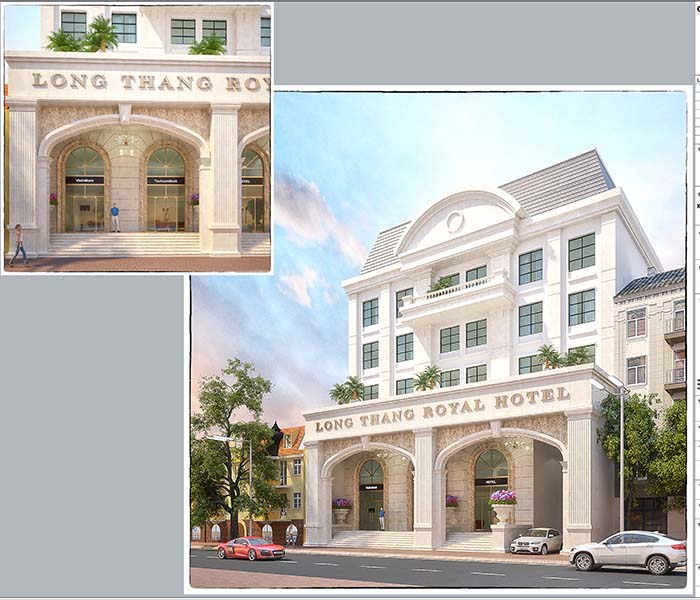 Long Thang Hotel Project in Thai Nguyen