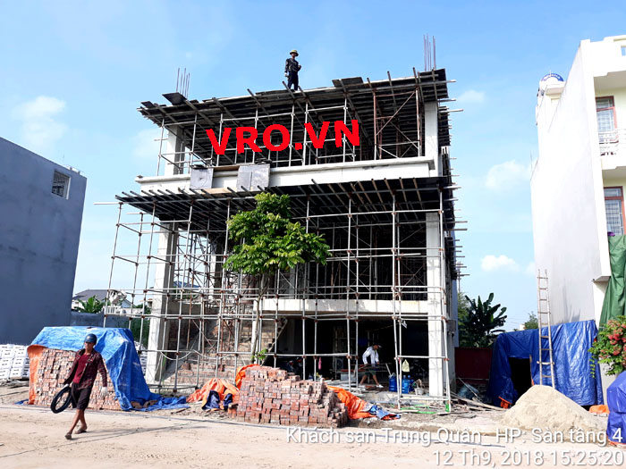 Trung Quan Hotel Project in Hai Phong