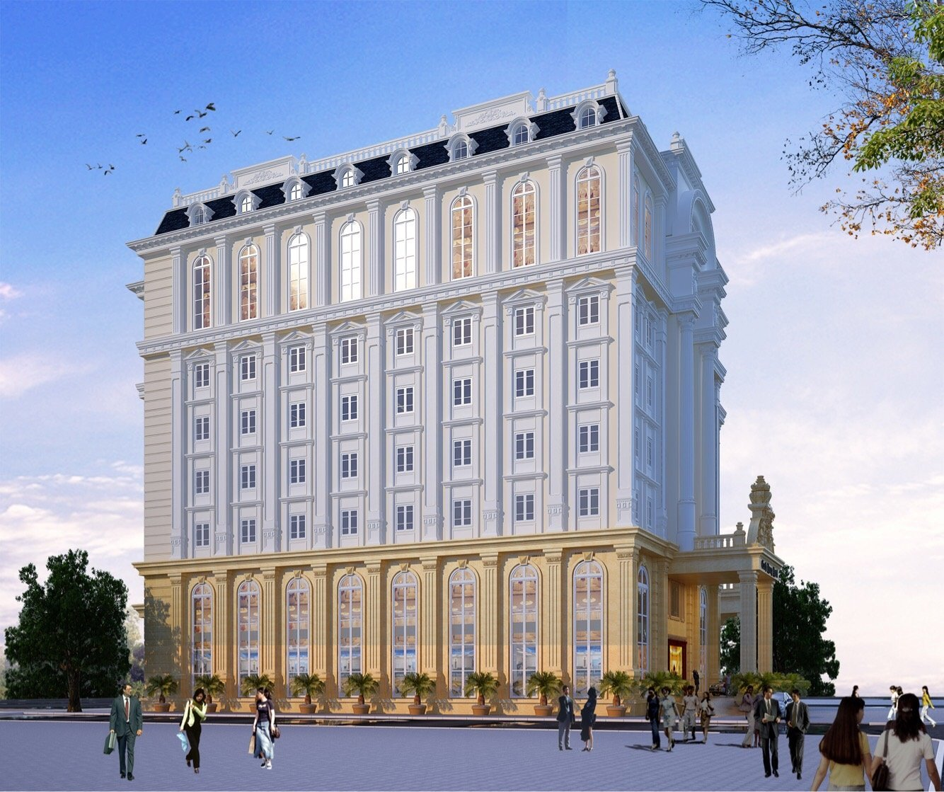 Canh Hung Hotel Project in Hai Phong city